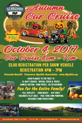 Autumn Car Cruise – October 4th!