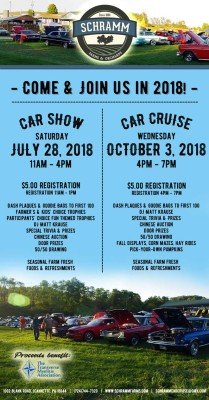 Annual Car Show – July 28th!