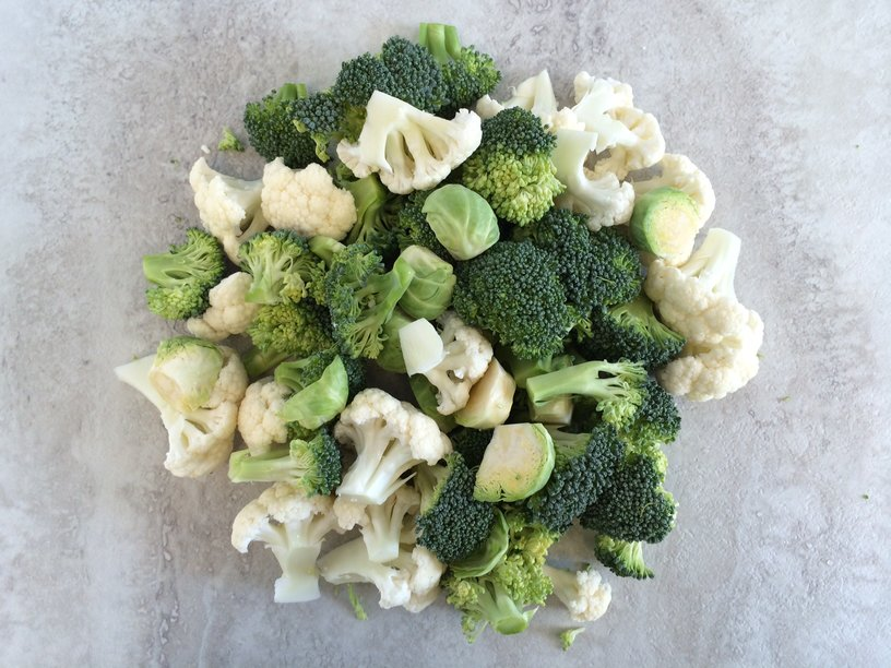 Broccoli Cauliflower Brussels