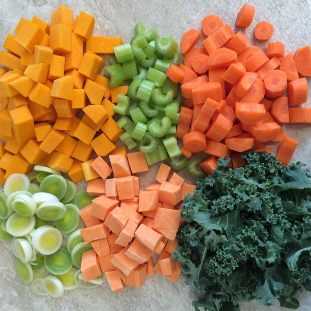 Raw Vegetable Cut 3