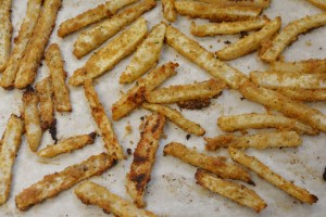 Kohlrabi Oven Fries