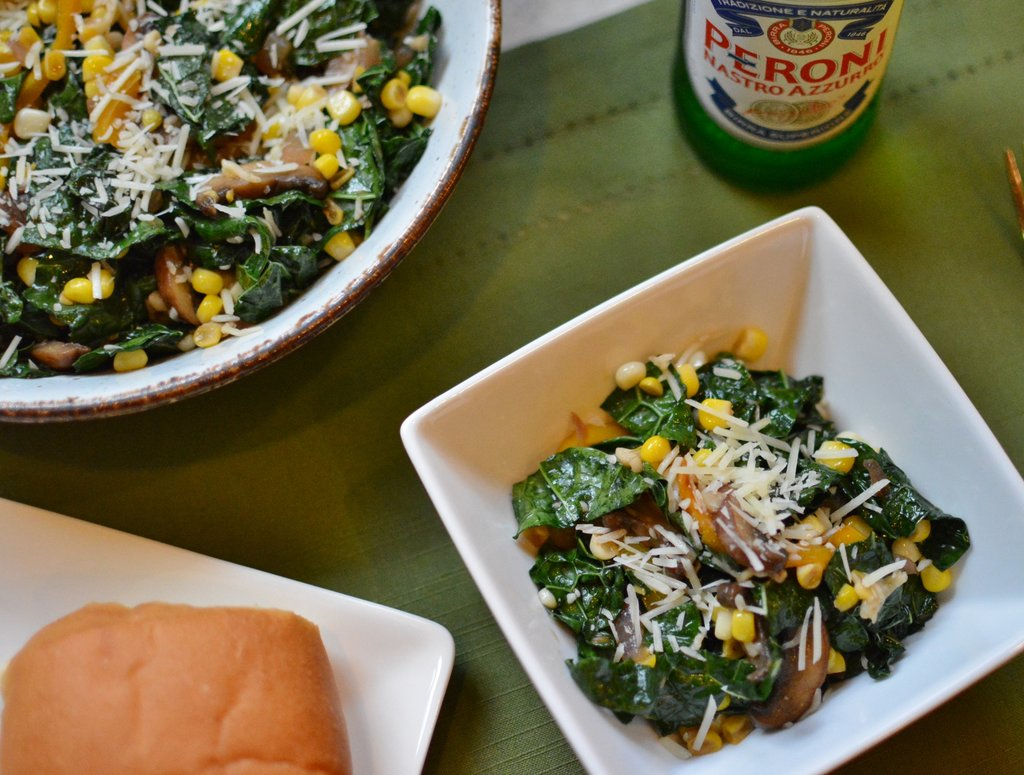 Wilted Kale Salad 1