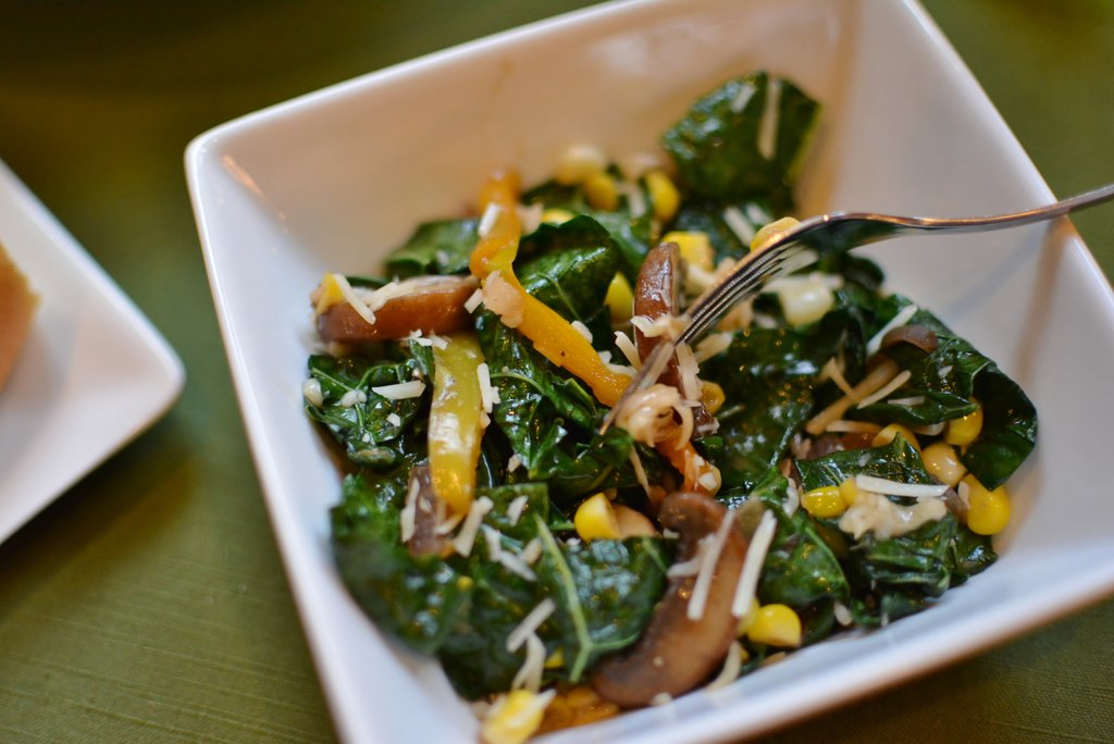 Wilted Kale Salad 3