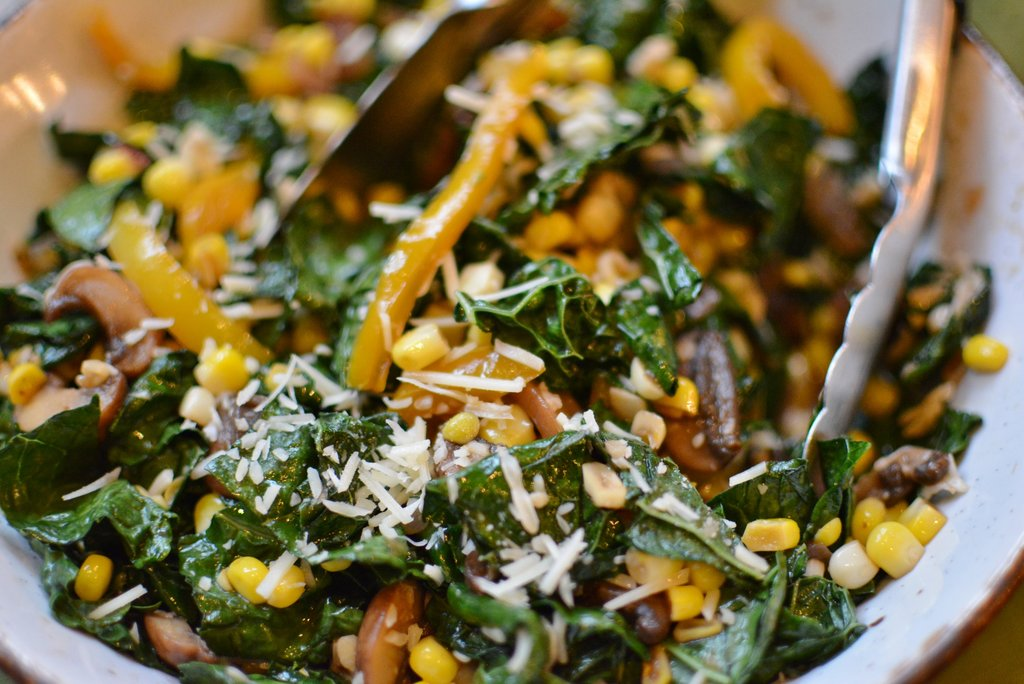 Wilted Kale Salad 4