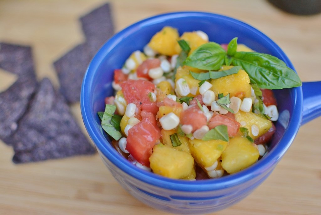 Corn Peach Salsa 4