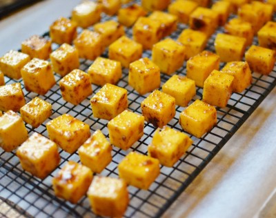 Sweet and Spicy Butternut Squash Tots