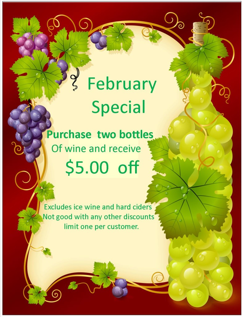 February Wine Special
