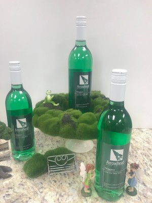 Green Niagara Wine for St. Patrick's Day!
